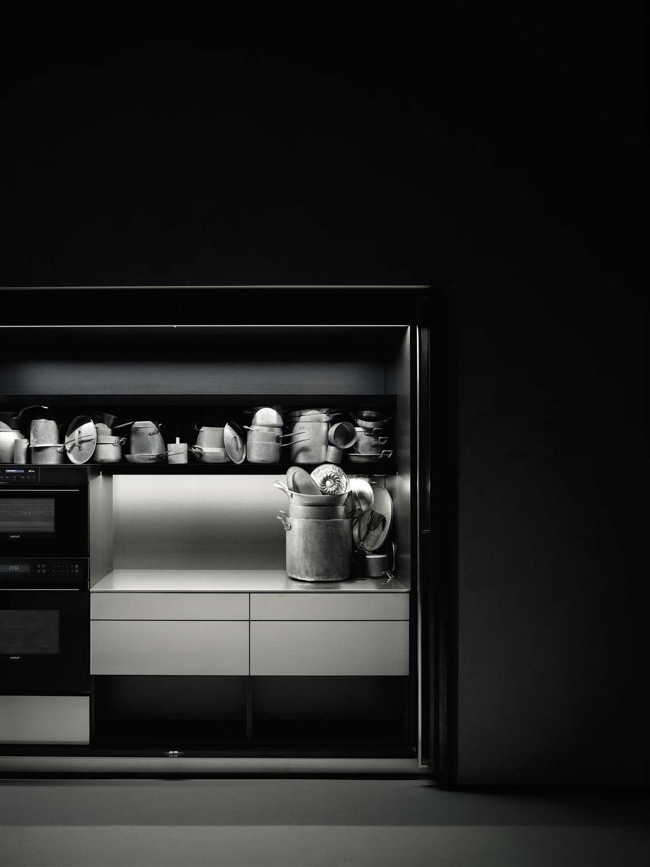 Cucina moderna / in melamminico / in noce / in quercia - HIDE - Boffi