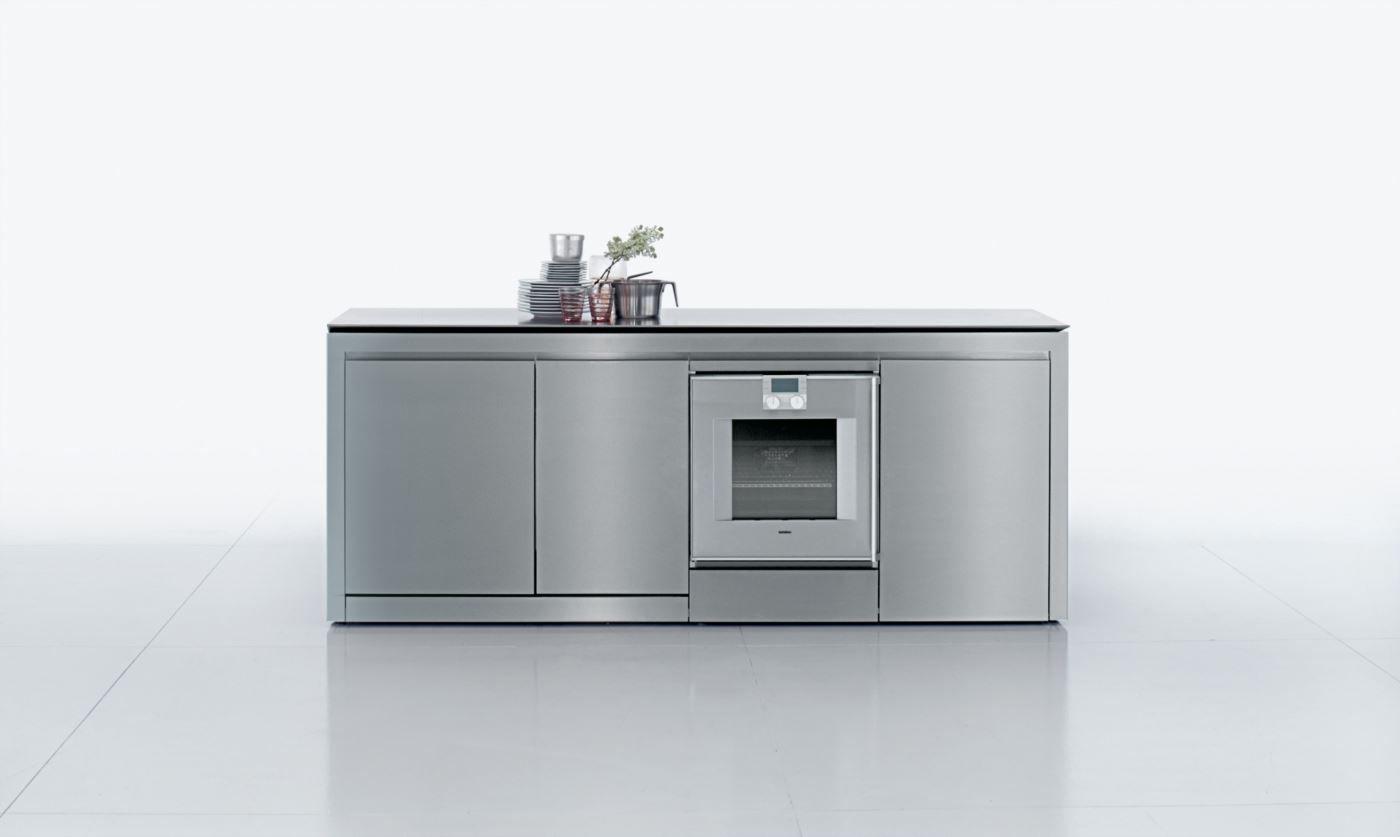 Cucina moderna / in legno / in acciaio inox / in Corian® - K2 by ...