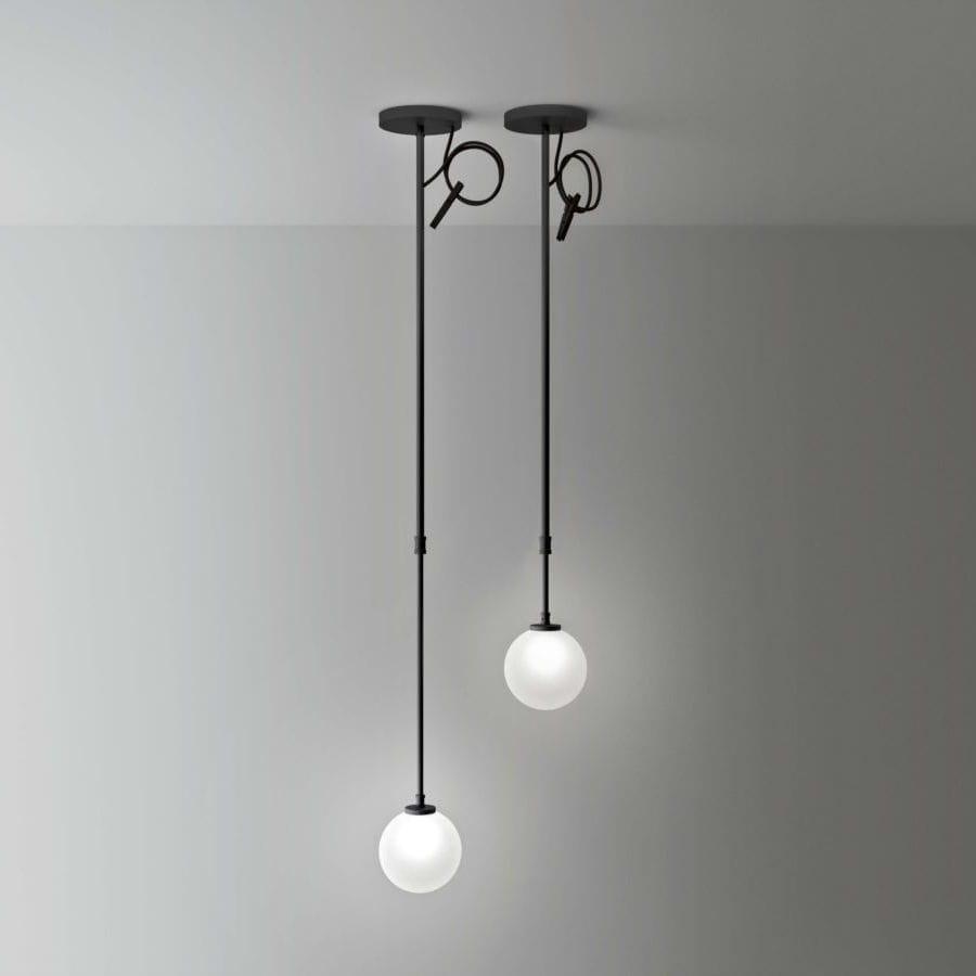 Lampade In Vetro A Sospensione : Lampada a sospensione moderna in vetro in vetro opalescente