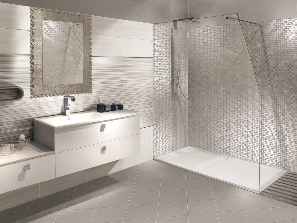 piastrella da bagno da parete in ceramica a tinta unita skyfall paul