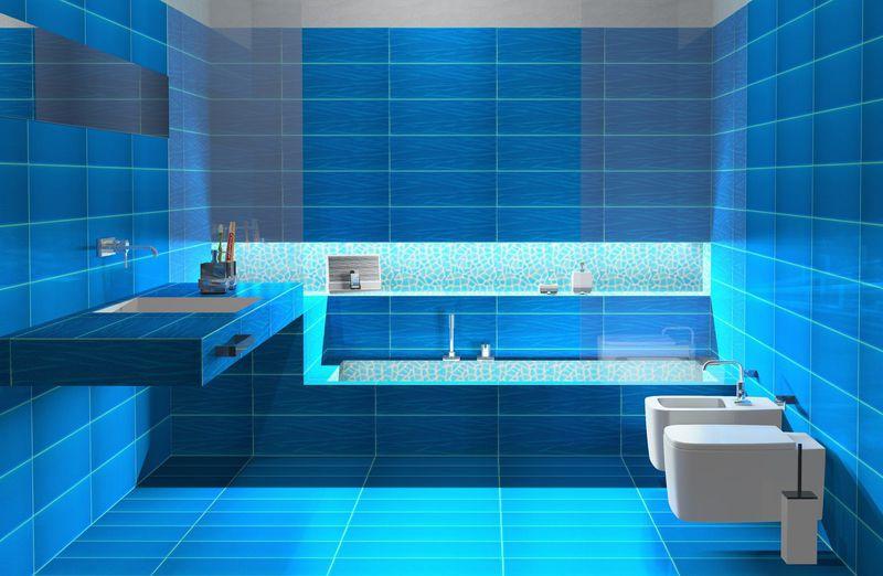 Piastrella da bagno da parete per pavimento in ceramica