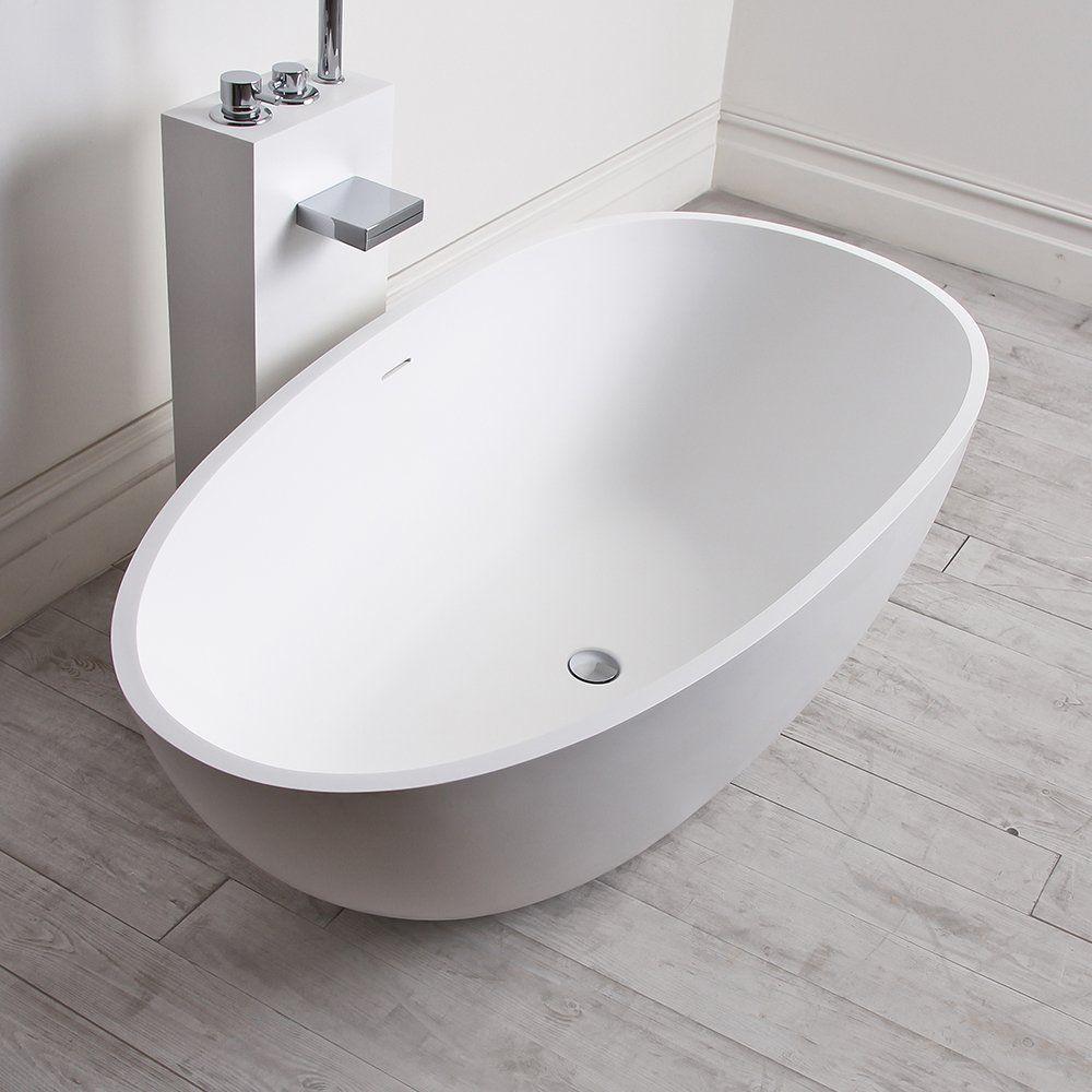 Favorito Vasca da bagno da appoggio / ovale / in composito - EGG SHELL MINI  EJ72