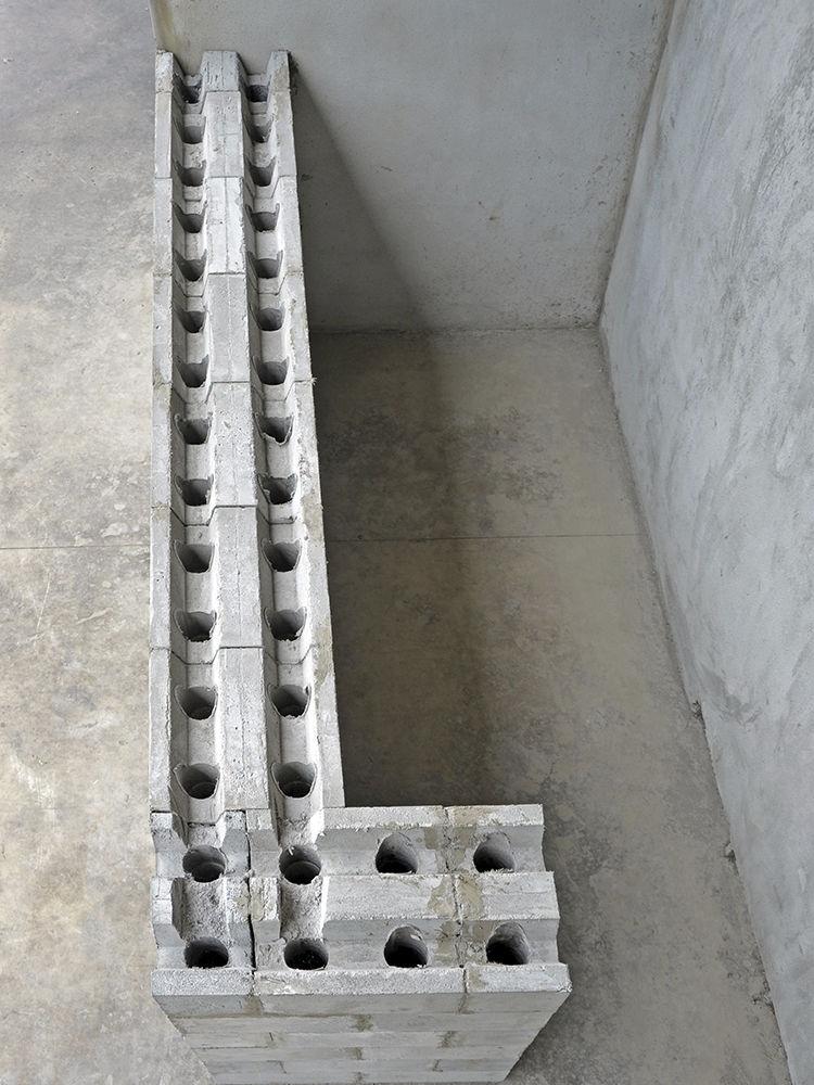 Blocchi Calcestruzzo Per Muri.Blocco Di Calcestruzzo Forato Cellulare Per Muro Portante