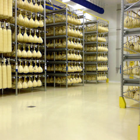 Pavimento In Resina Industriale Liscio Aspetto Cemento