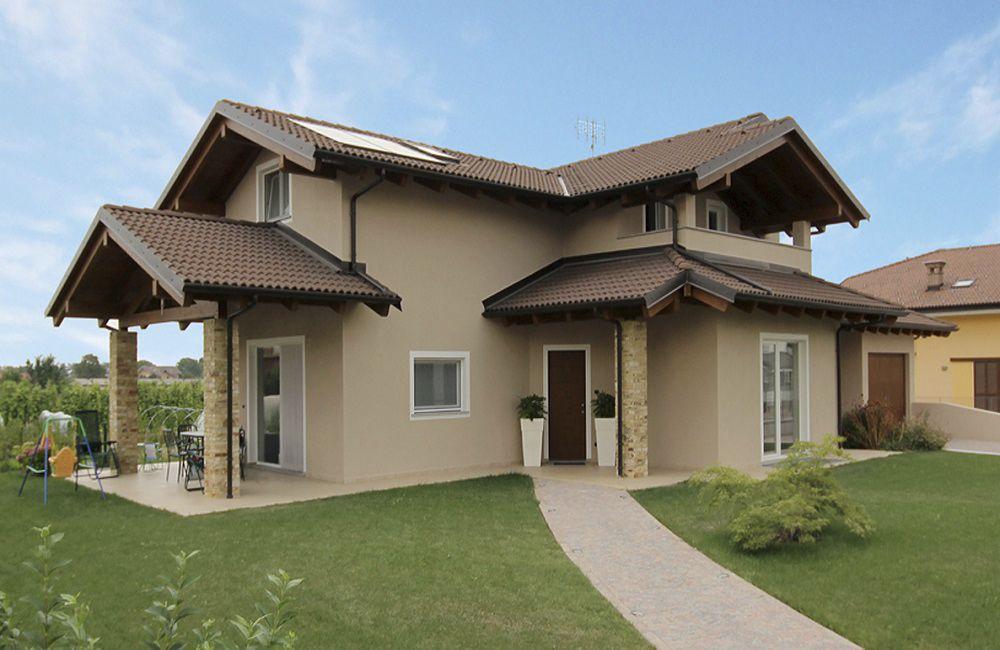 Casa Prefabbricata Legno : Casa prefabbricata moderna con struttura in legno in legno