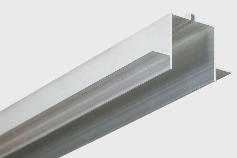Profilo luminoso da incasso a soffitto led sistema d