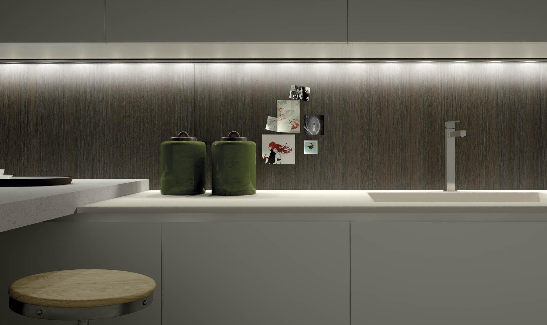 cucina moderna / in legno / con isola / laccata - forty/5 ... - Cucine Valdesign