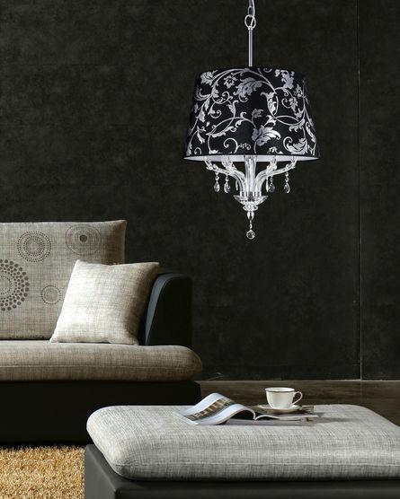 Lampadario moderno / in cristallo swarovski® / in metallo ...