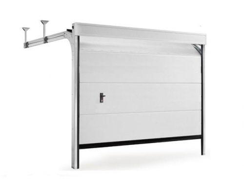 Porta sezionale per garage / in acciaio galvanizzato / automatica ...