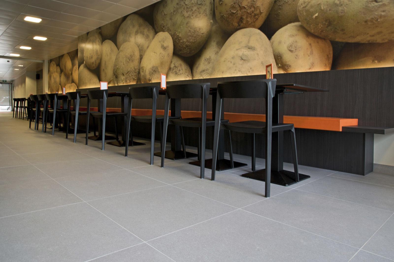Piastrella da interno da parete per pavimento in ceramica