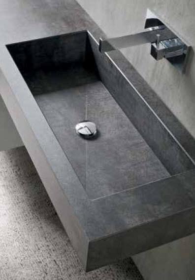Mobile basso da bagno / da parete - MG05 - IDEAL BAGNI