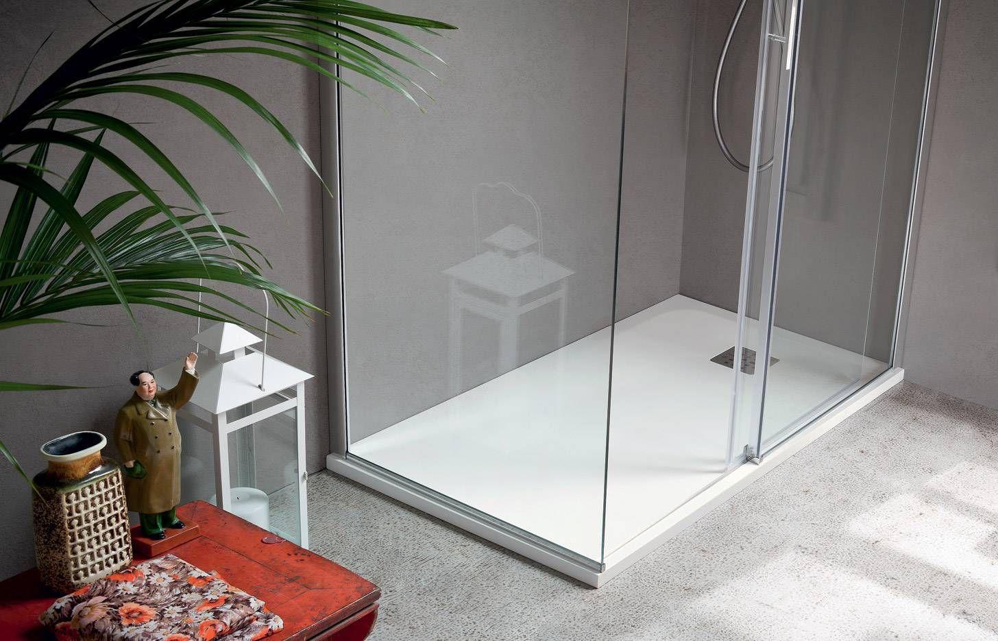 Piatto doccia rettangolare / in composito - MARTINI MATERIA - IDEAL ...