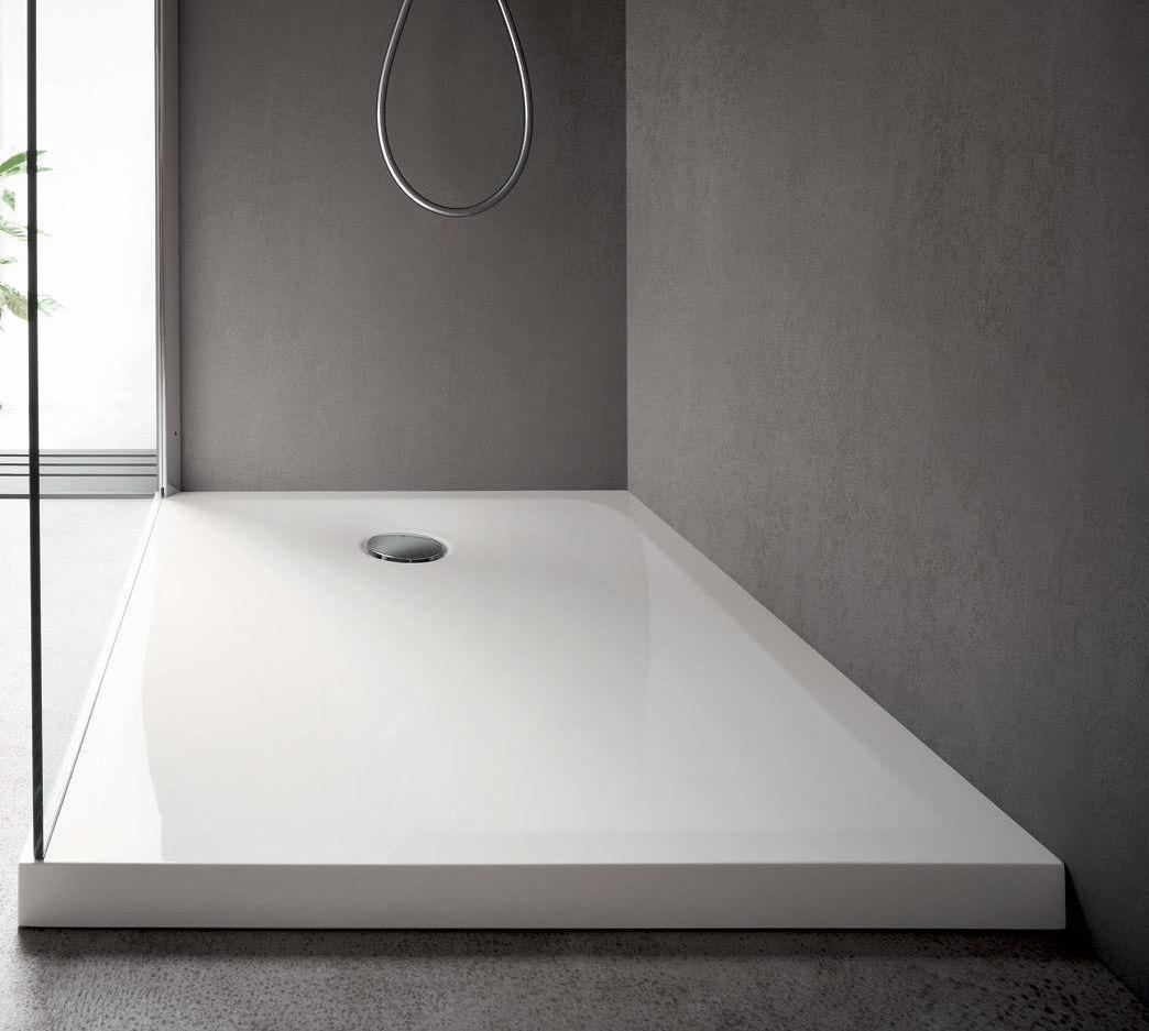 Piatto doccia rettangolare / in acrilico - MARTINI CRYL - IDEAL BAGNI