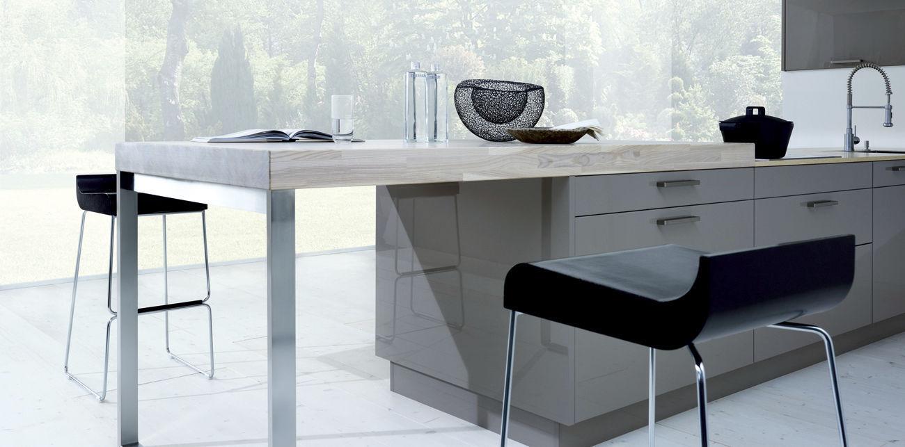 Bancone da cucina / in legno / dritto - Next125