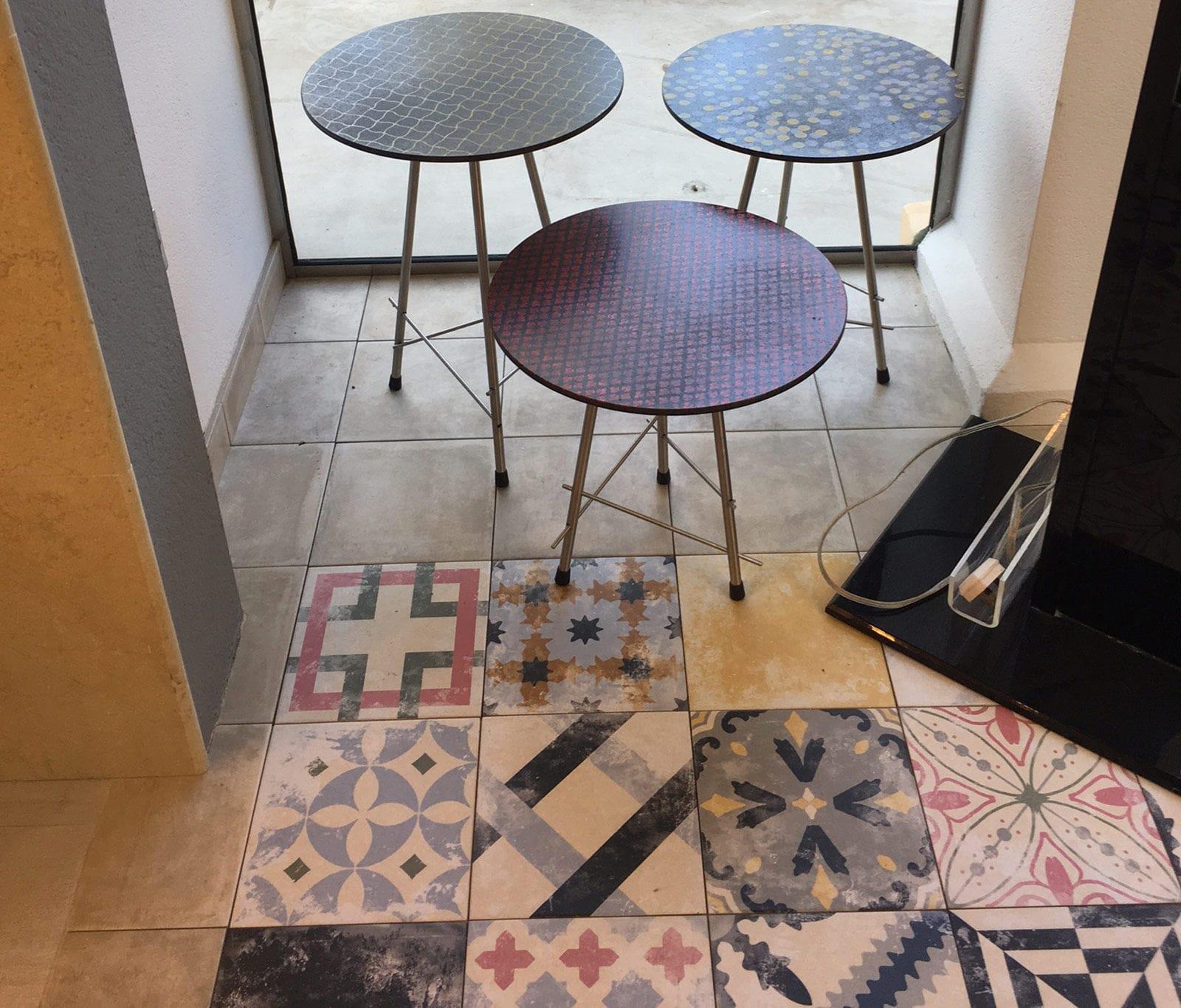 Tavoli Da Giardino Pietra Lavica.Tavolo In Pietra Lavica Circolare Da Esterno Contract