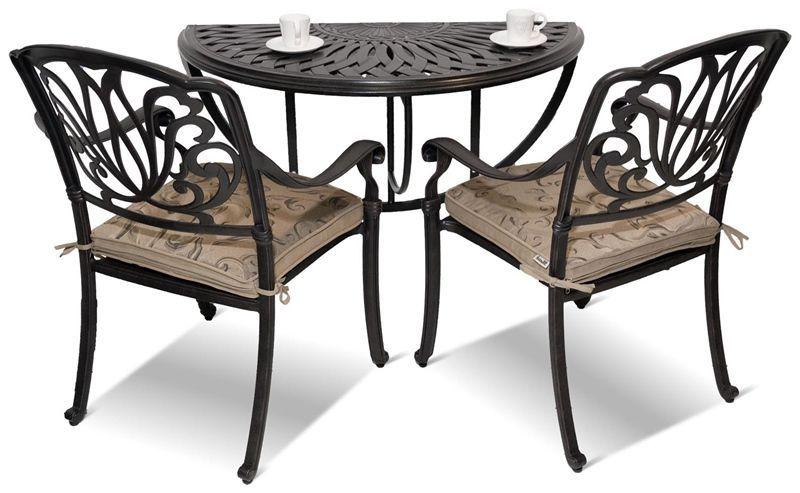 Sedie In Ghisa Da Giardino Prezzi.Sedia Da Giardino Moderna Con Braccioli In Ghisa Di Alluminio