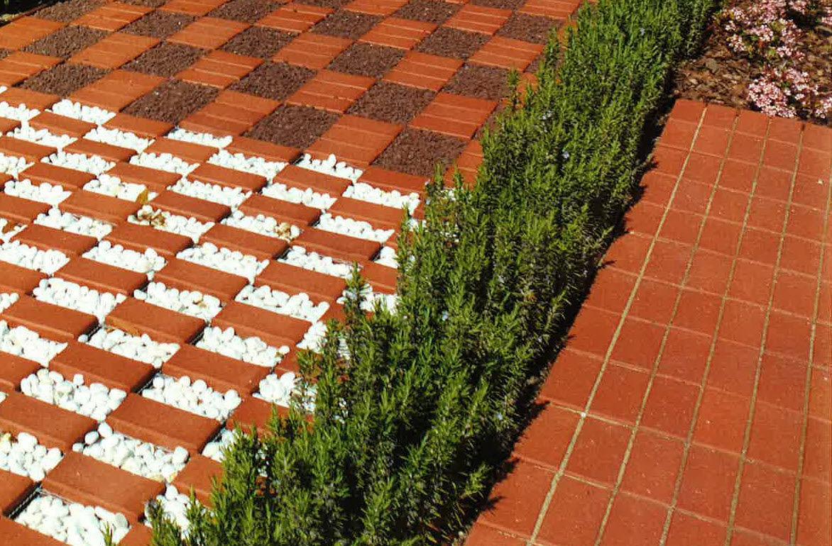 Pavimentazione Drenante Da Giardino : Pavimentazione in ceramica resistente al gelo drenante da