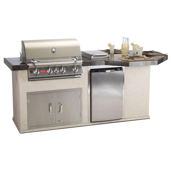 cucina moderna / in acciaio inox / in gres porcellanato / con ... - Gres Porcellanato Cucina Moderna