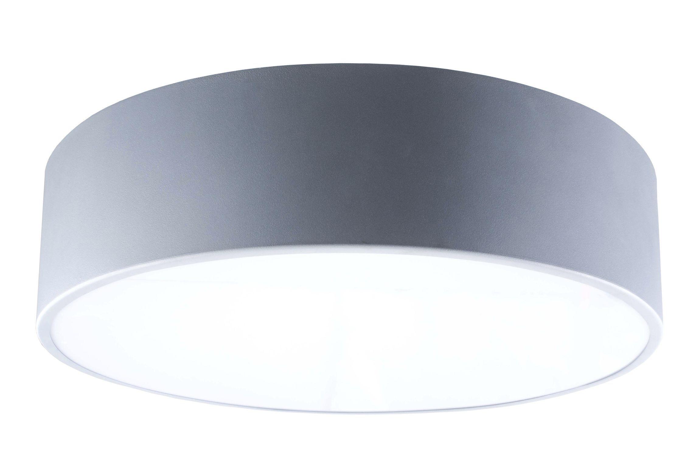 Lampada Tubolare Fluorescente : Luce led a lampada fluorescente tonda in acciaio round sm