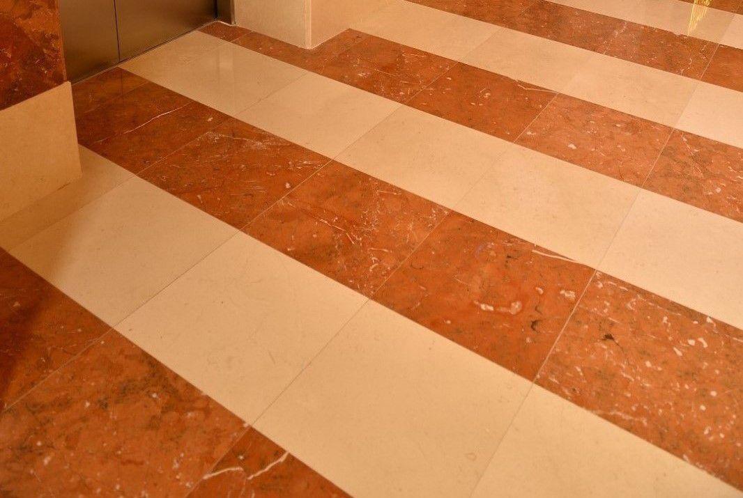 Pavimento Marmo Rosso : Piastrella da interno da parete da pavimento in marmo rosso
