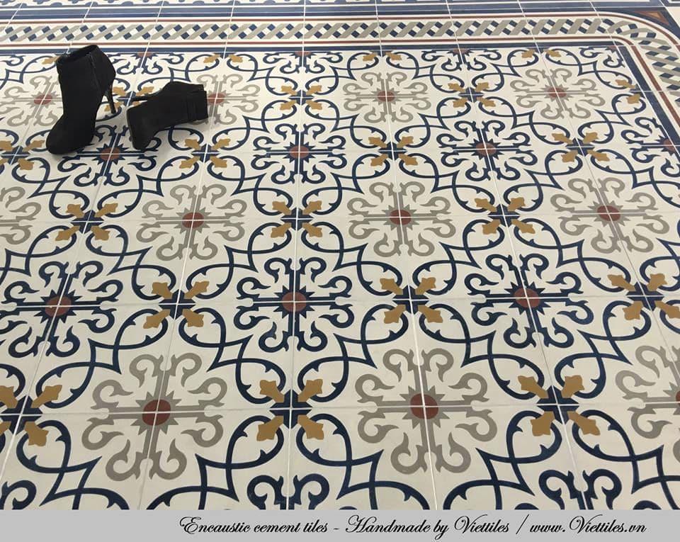 Piastrella in cemento encausto da interno da pavimento 20x20 cm