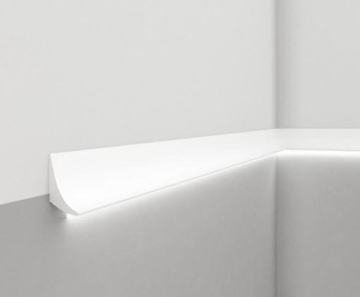 Profilo luminoso da parete led sistema d illuminazione