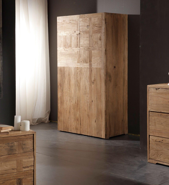 Armadio moderno / in legno massiccio / con ante battenti - JOINT ...