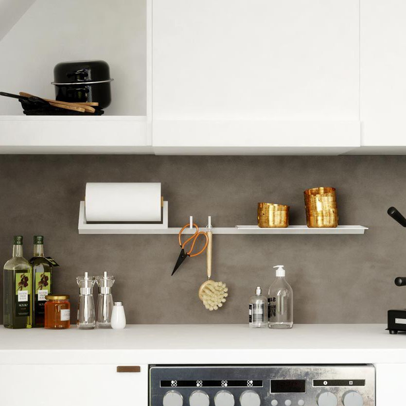 Mensola / moderno / in alluminio / per cucina - TRIGA SLIM - Damiano ...