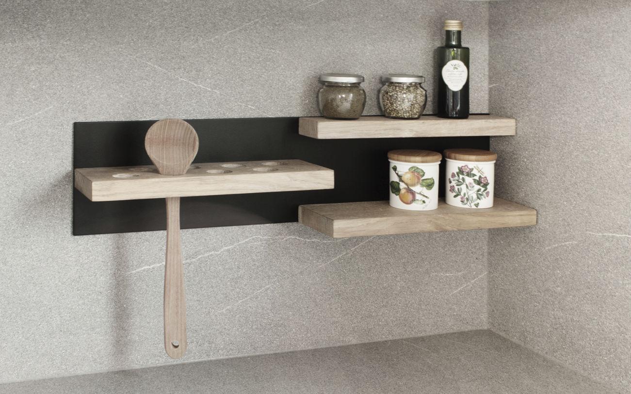 Mensole Da Bagno Design : Mensola moderno in legno da bagno magnetic mini 3s design