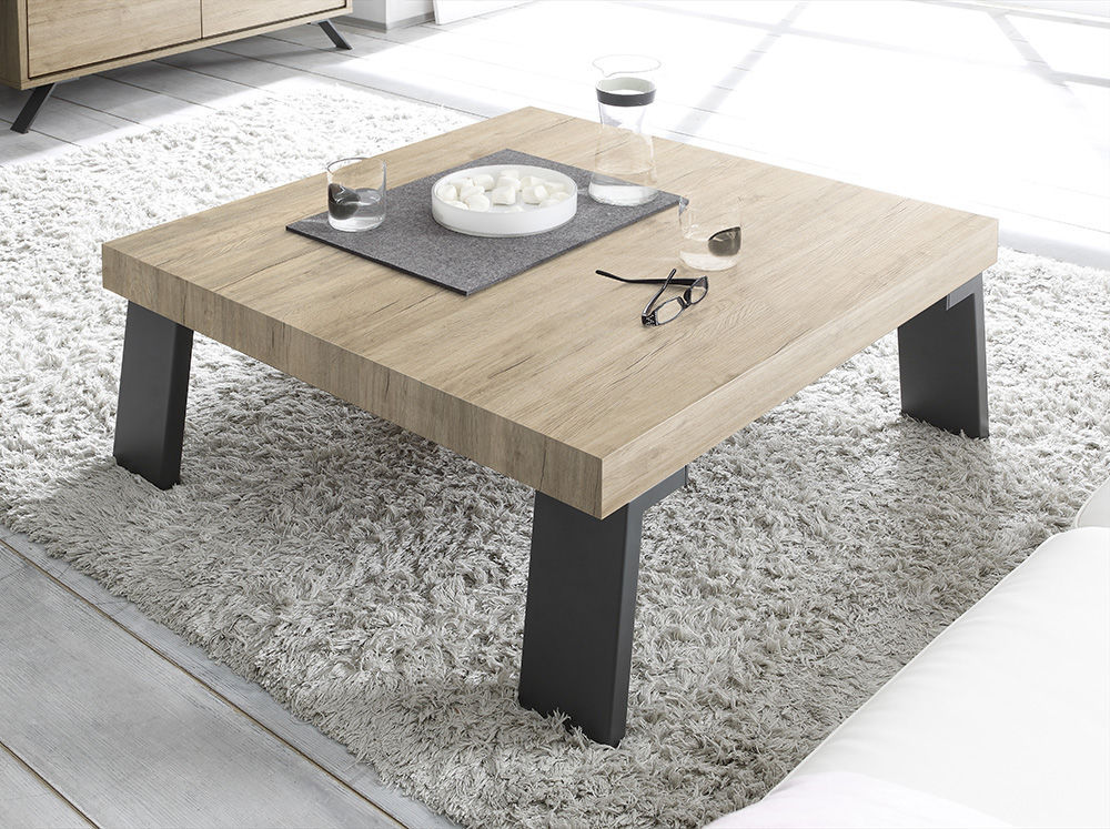 Credenza Moderna Palma : Tavolino basso moderno in quercia noce wengé palma