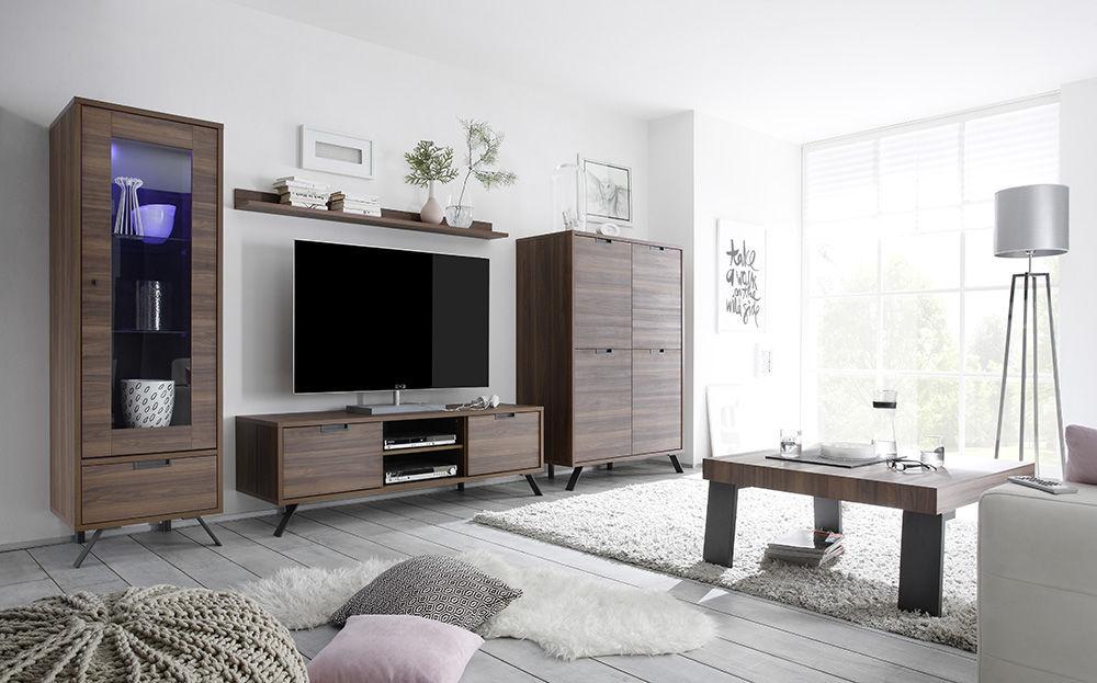 Credenza Moderna Palma : Mobile porta tv moderno in quercia noce wengé palma