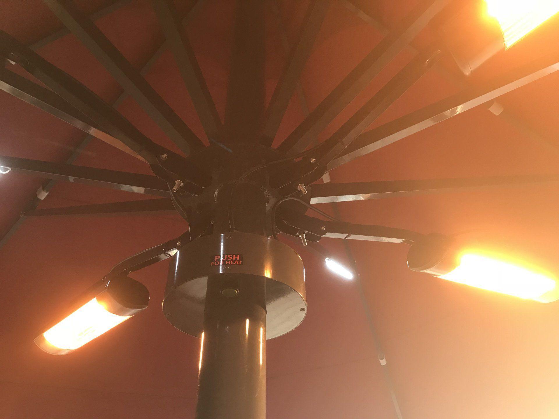 Illuminazione per ombrellone aztec umbrella systems