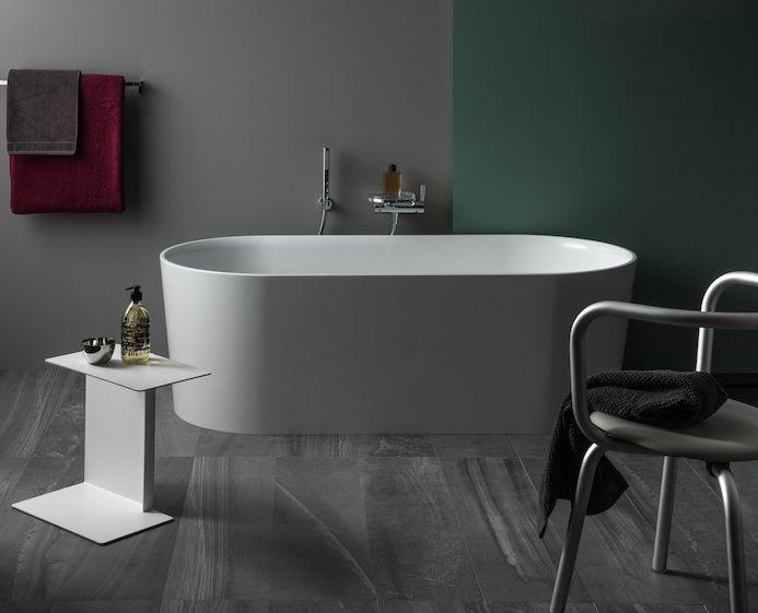 Vasca Da Bagno Laufen Prezzo : Vasca da bagno da appoggio ovale in ceramica val laufen
