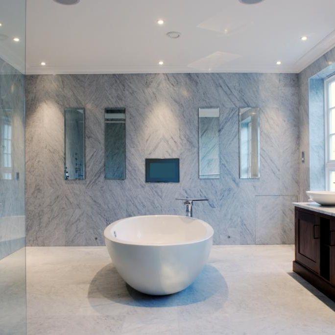 Super Piastrella da interno / da bagno / da parete / in marmo  AI53