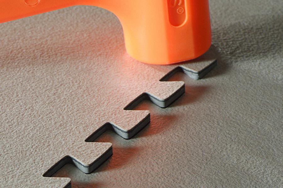 Piastrella flessibile da interno per pavimento in vinile