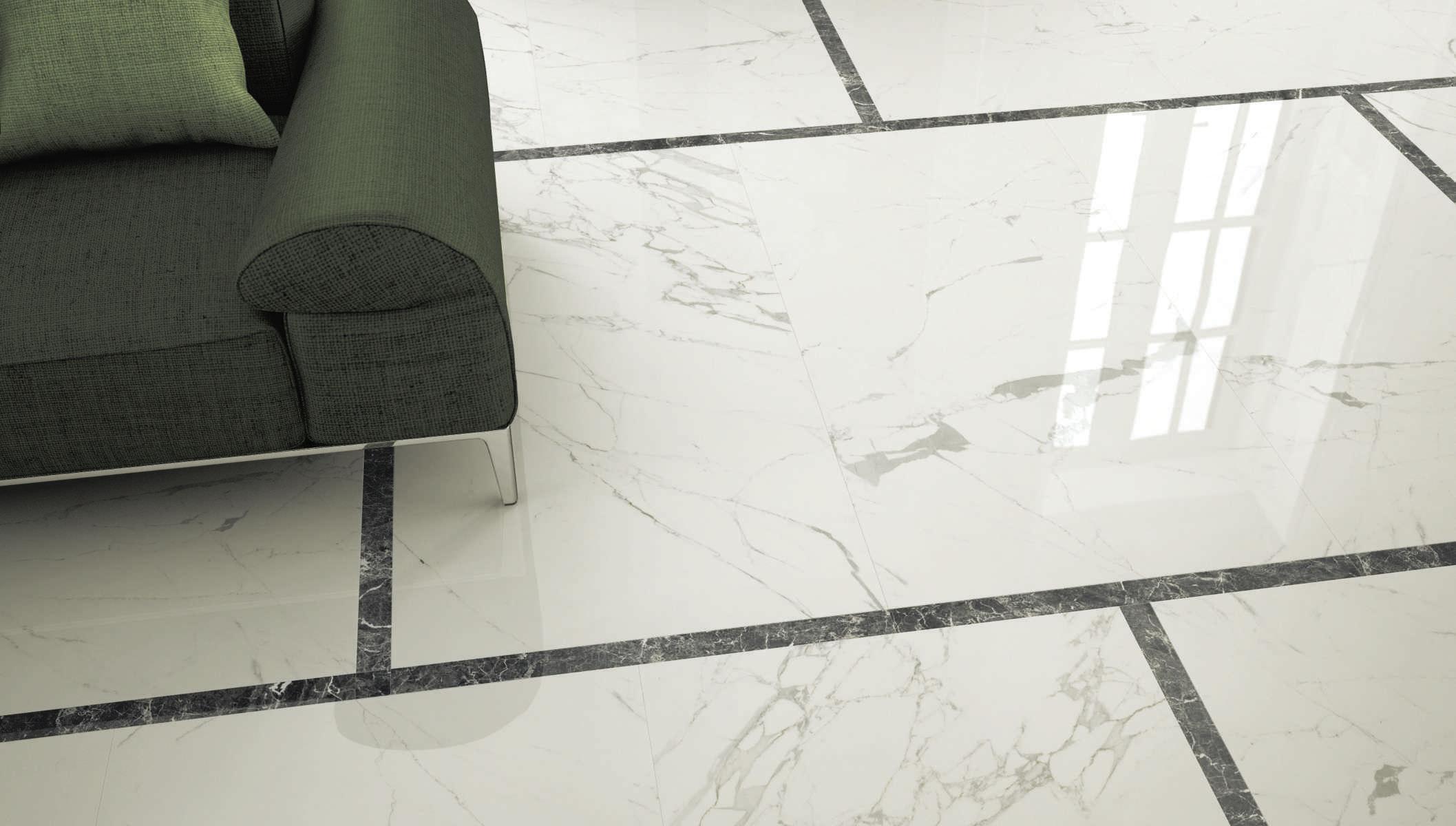 Piastrella aspetto marmo da interno da parete da pavimento
