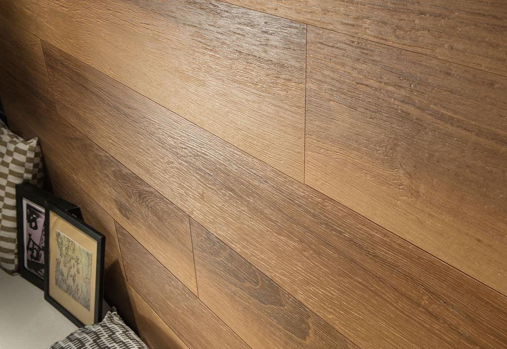 Piastrella aspetto legno da interno da esterno da parete