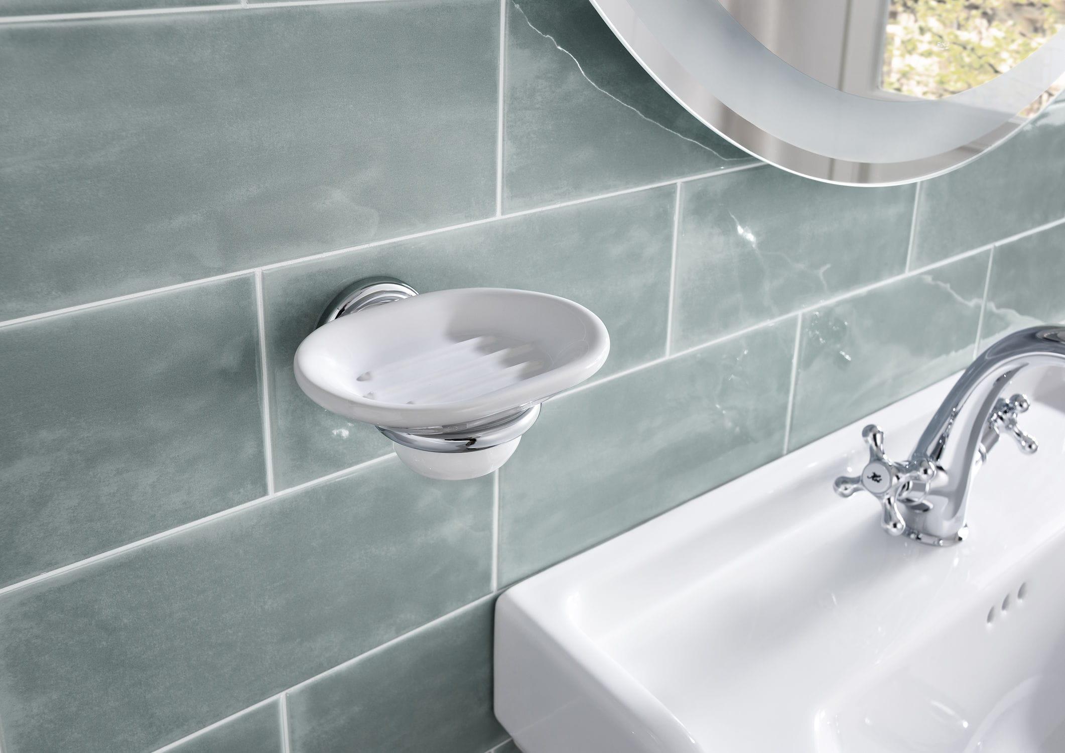 Vasca Da Bagno Roca Prezzi : Portasapone da parete in metallo in ceramica carmen roca