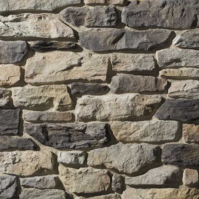 Lastra di paramento in pietra ricostituita / esterna ...