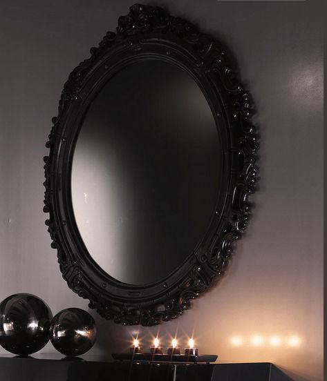 Specchio a muro / design nuovo barocco / in legno   vale   khaos