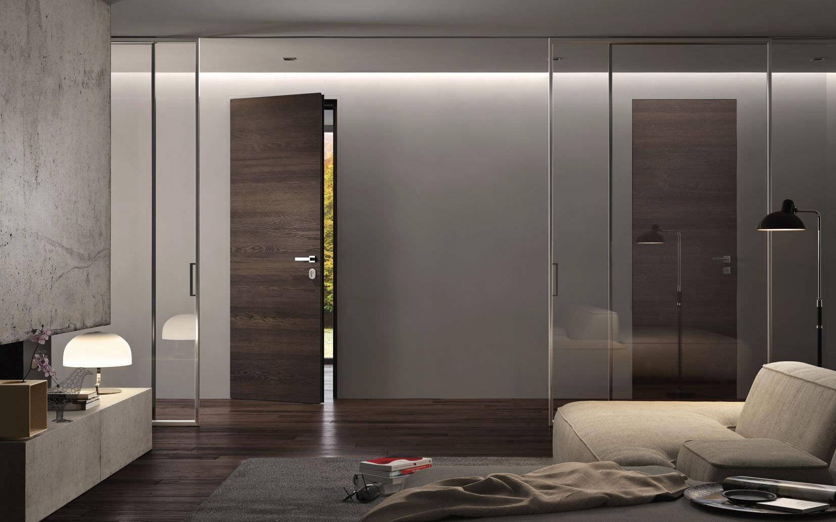 Porta da interni / per armadio a muro / per cabina armadio ...