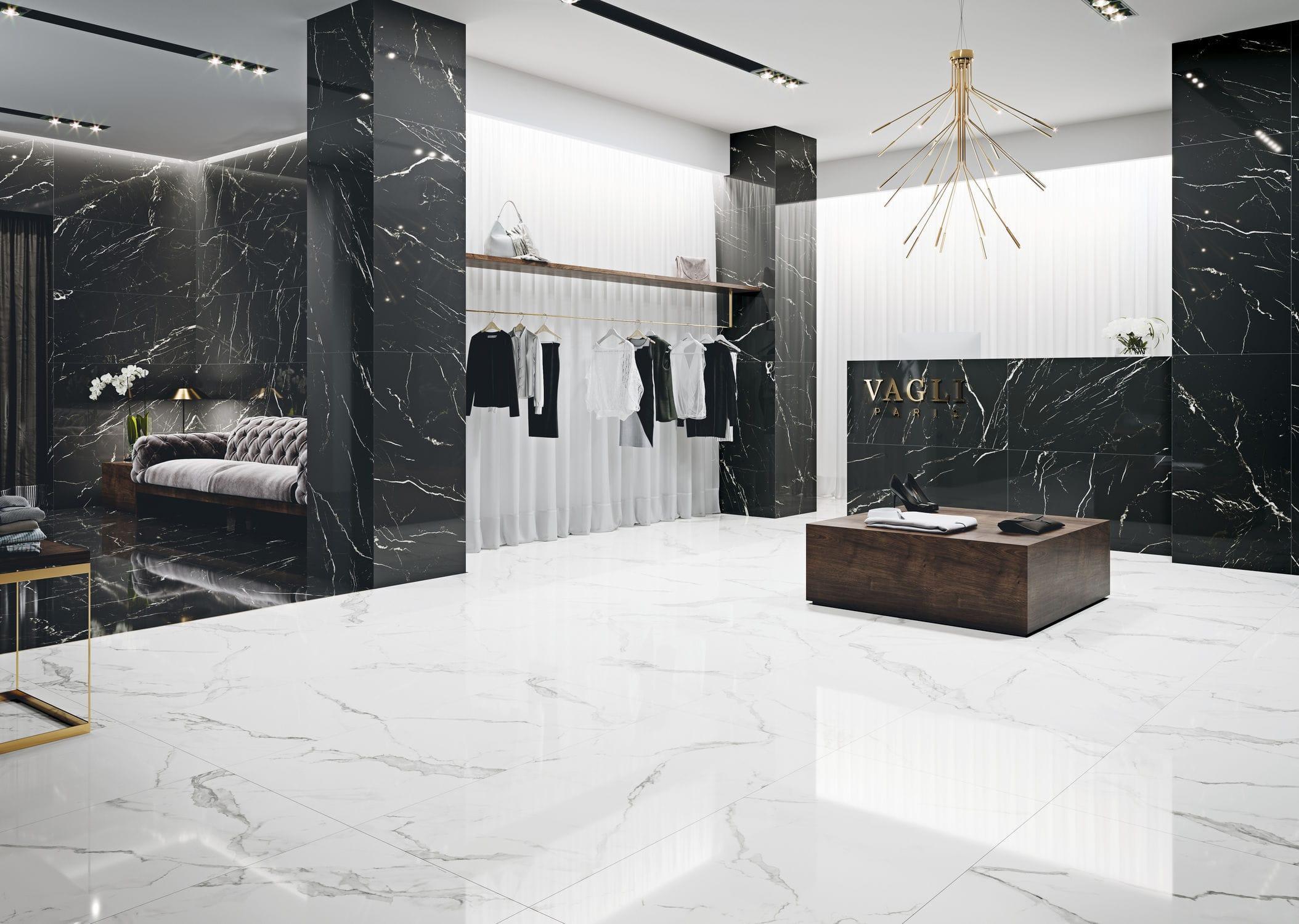 Piastrelle decorative per pavimenti interni: piastrelle adesive