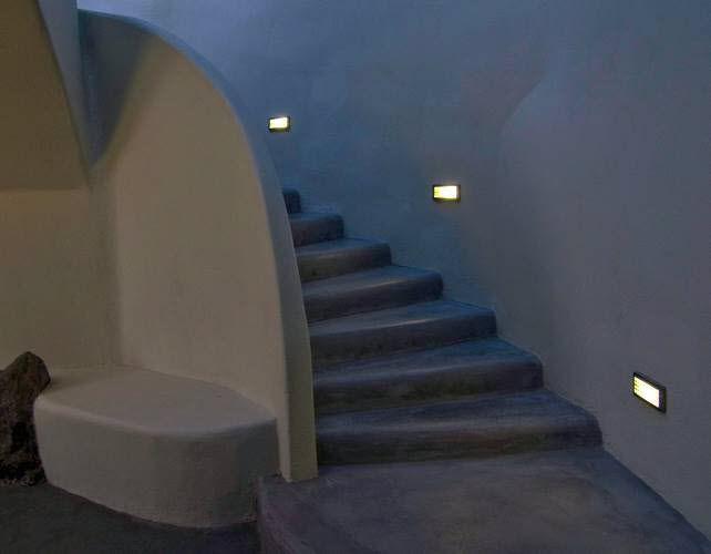 Luce da incasso a muro led rettangolare da esterno d