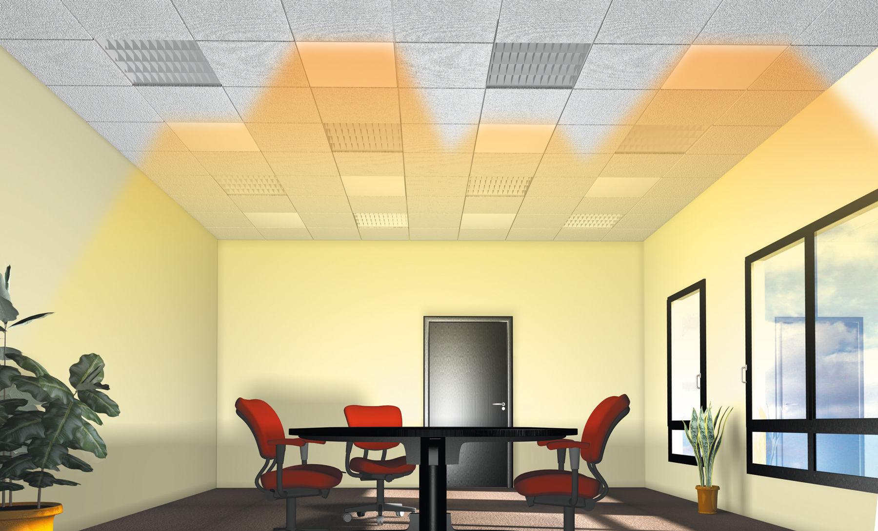 pannello radiante elettrico / da soffitto - dybox - airelec