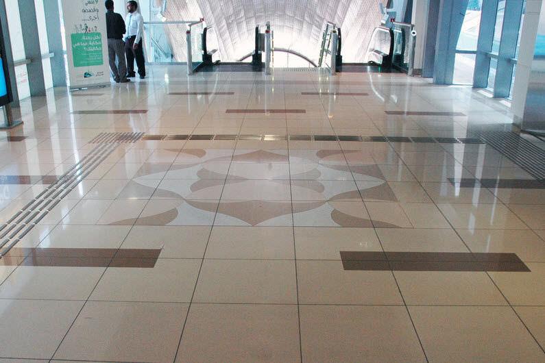 Piastrella da interno da pavimento in marmo in quarzite