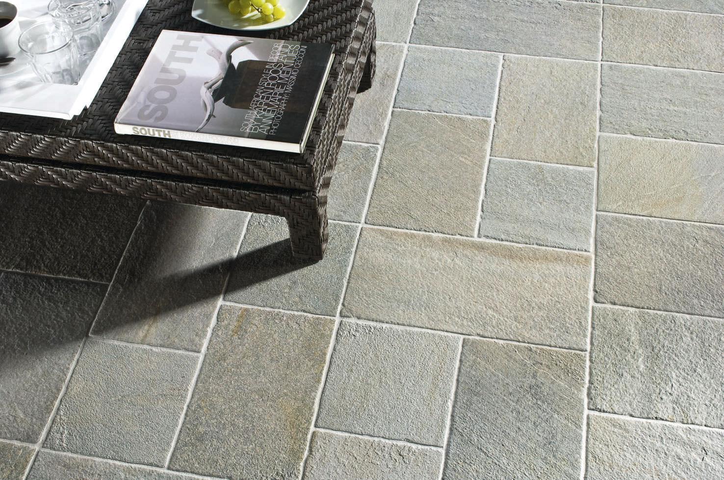 Piastrella da interno da esterno per pavimento in gres