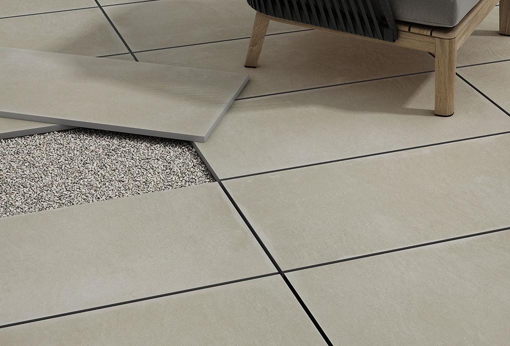 Piastrella da esterno da pavimento in gres porcellanato