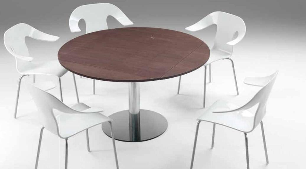 Tavolo moderno / in legno / tondo / allungabile - FRISBEE by Italo ...