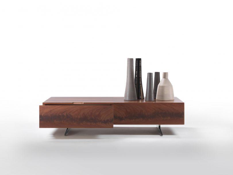 mobile porta tv moderno / in legno / in vetro / in alluminio ... - Mobili Tv Bassi Moderni