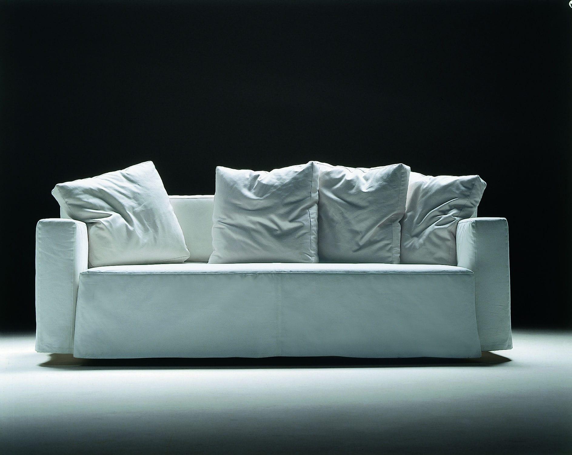 Divano letto / moderno / in tessuto / in pelle - WINNY by Guido ...